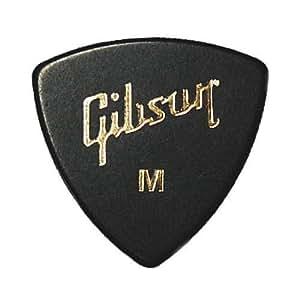 Gibson ピック トライアングル MEDIUM-BLK ×10枚セット