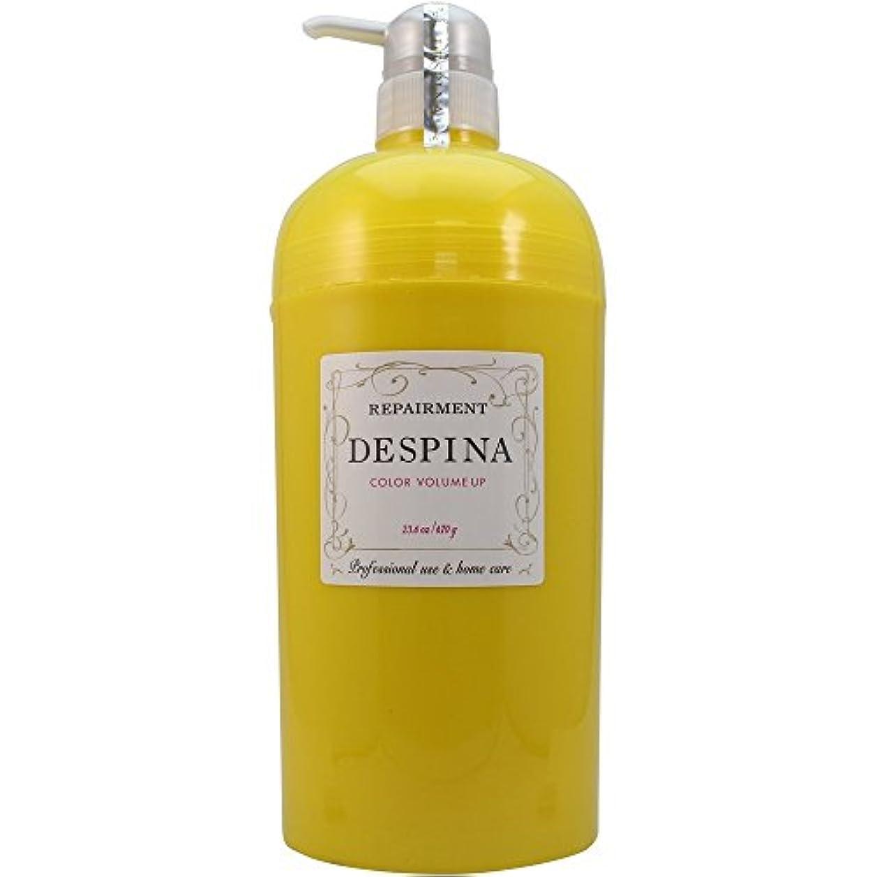宮殿化学薬品独創的中野製薬 デスピナ リペアメント カラー ボリュームアップ 670g