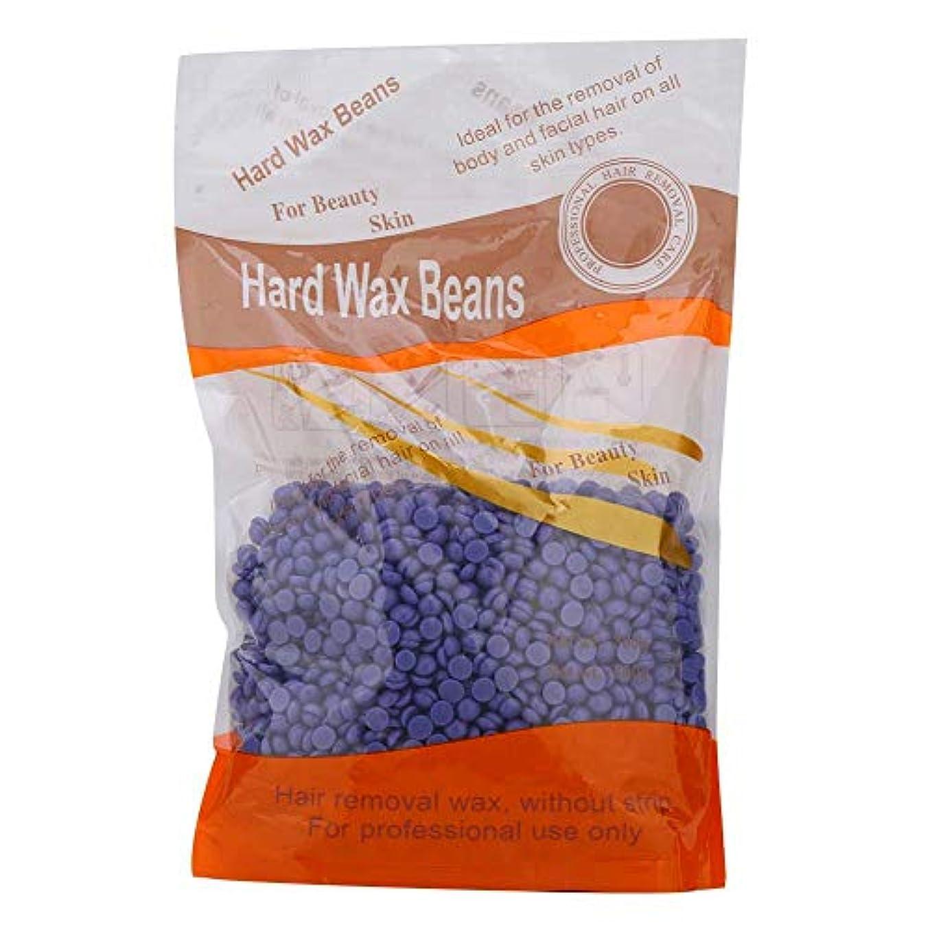 充電ゲージペリスコープ体の脱毛ケアのための300グラムハードワックス豆、ホットワックス機のためのホットフィルムワックス豆(6)