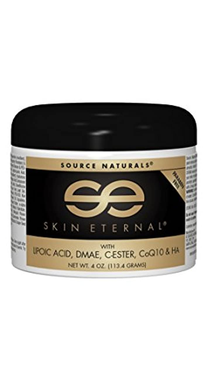 スプリット骨折特異性海外直送品Source Naturals Skin Eternal Cream, 4 Oz