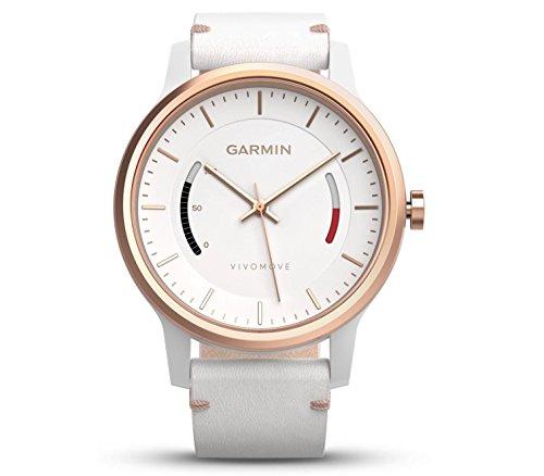 GARMIN(ガーミン) 活動量計 ライフログウオッチ VIVOMOVE CLASSIC WHITE 【 日本正規品 】 159741