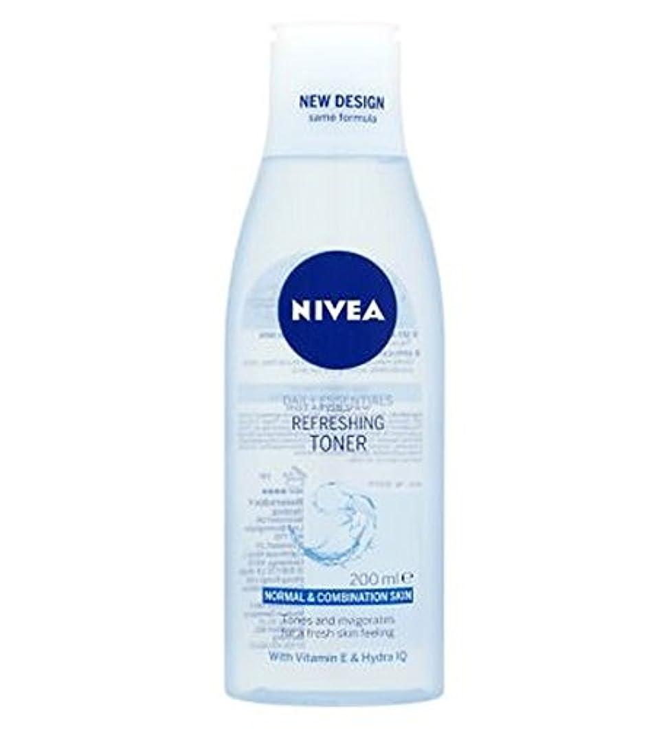 デザート単調な離れてトナー200ミリリットルをリフレッシュニベア生活必需品 (Nivea) (x2) - Nivea Daily Essentials Refreshing Toner 200ml (Pack of 2) [並行輸入品]