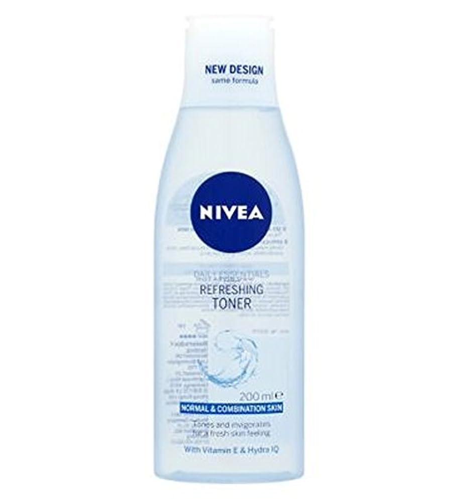 愛情捧げるバトルトナー200ミリリットルをリフレッシュニベア生活必需品 (Nivea) (x2) - Nivea Daily Essentials Refreshing Toner 200ml (Pack of 2) [並行輸入品]