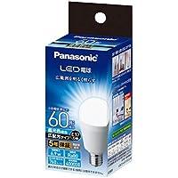 パナソニック LED電球 口金直径17mm 電球60W形相当 昼光色相当(6.9W) 小形電球?広配光タイプ 密閉器具対応 LDA7DGE17ESW