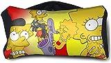 リサシンプソン 旅行用枕とアイマスク枕ネックピローキット ポータブルコンパクトアイマスク ヘッドサポート枕 飛行機/車/旅行/オフィス/キャンプ/電車に軽い 持ち運び枕 折りたたみ式 男女兼用