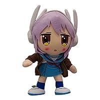 """Haruhi: 8"""" Yuki Nagato Plush by GE Animation [並行輸入品]"""