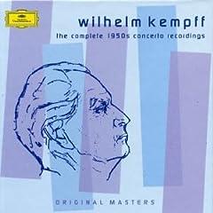 W.ケンプ(P) 1950年代の協奏曲集の商品写真