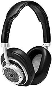 Master & Dynamic MW50+ Wireless 2 in 1, Bluetooth Exchangeable On/Over-Ear Headphones, Black/Si