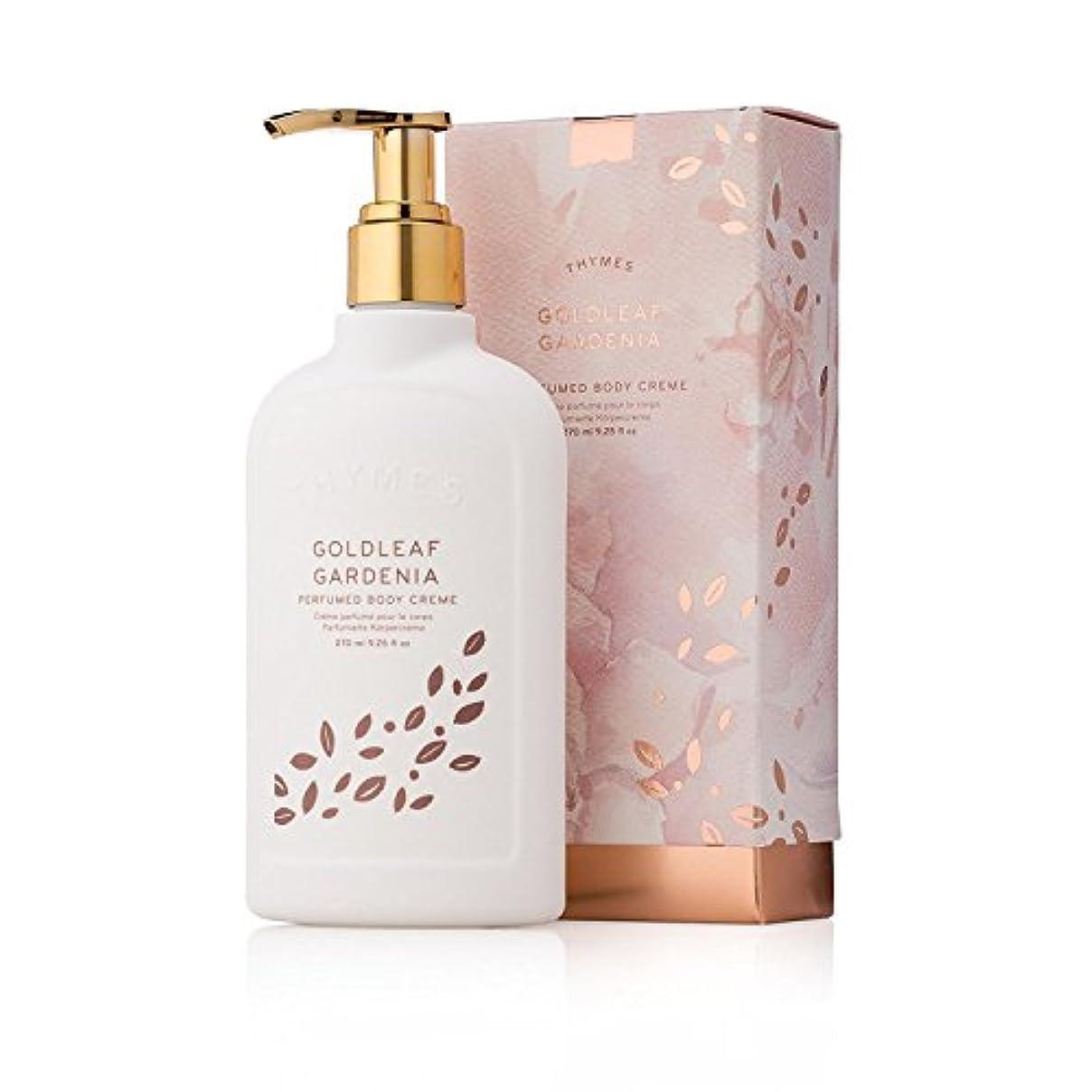 曲がったエンコミウムベスビオ山タイムズ Goldleaf Gardenia Perfumed Body Cream 270ml/9.25oz並行輸入品
