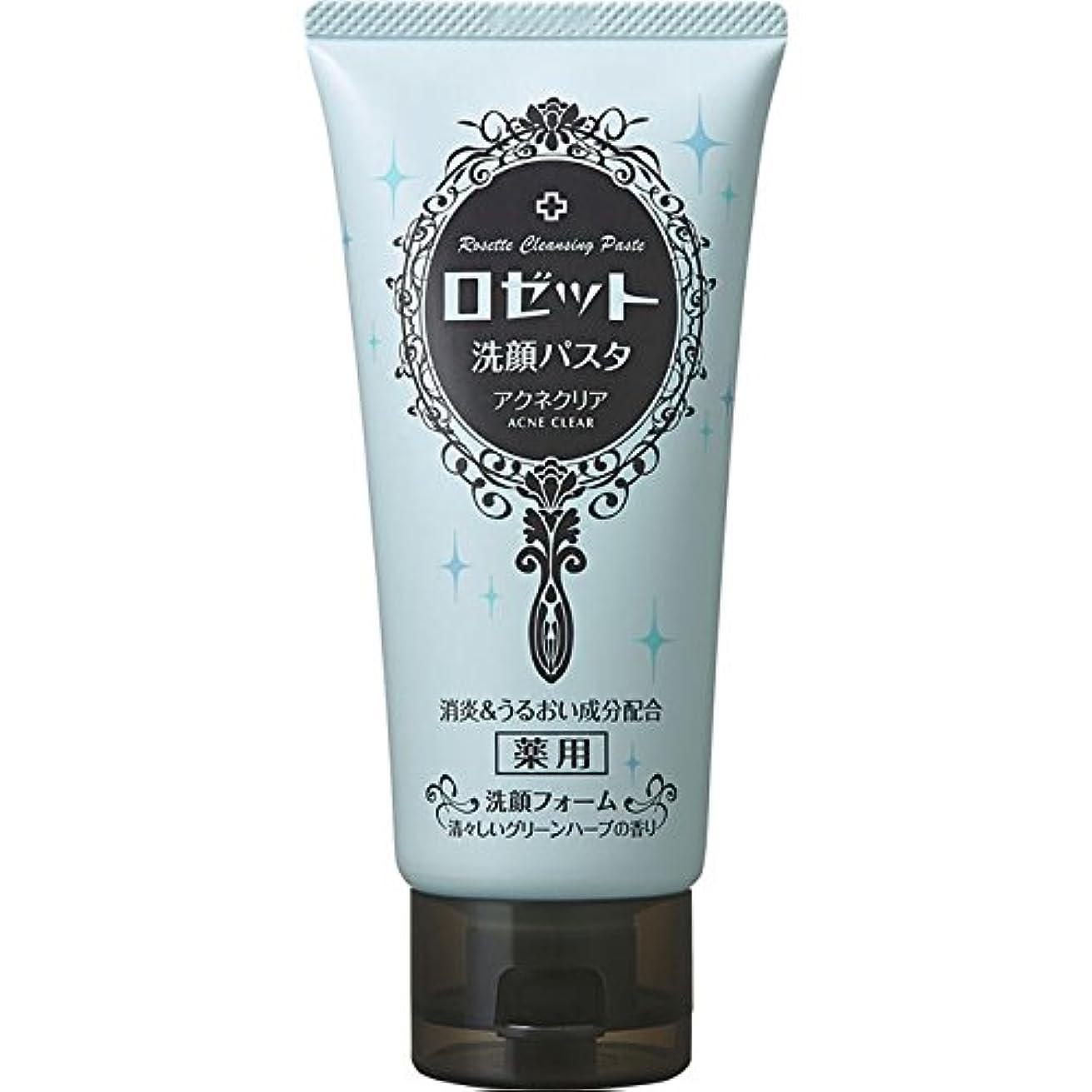 丁寧ステートメント探すロゼット ロゼット洗顔パスタ アクネクリア 120g (医薬部外品)