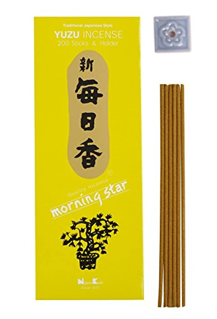 亡命音楽甲虫Morning Star – Yuzu 200 Sticks