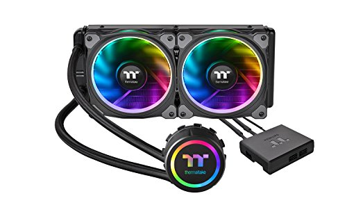 Thermaltake Floe Riing RGB 240 TT Premium Edition 一体型水冷CPUクーラー [RGB LED 搭載] FN1116 CL-W157-PL12SW-A B076F78ZP6 1枚目