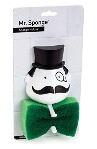 RoomClip商品情報 - あなたの洗面台を見守る小さな紳士【91345 Mrスポンジスポンジホルダー】