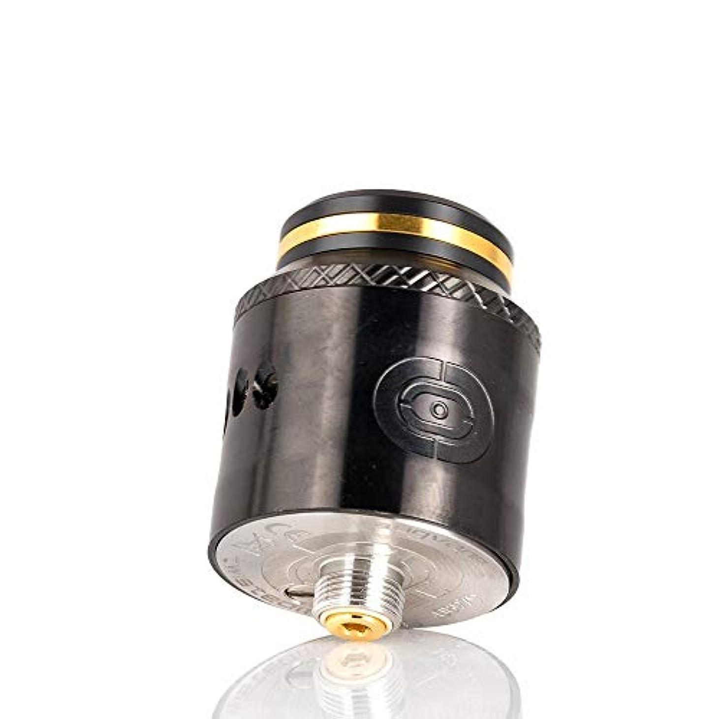 スポーツ私の甲虫電子タバコ vape アトマイザー AUGVAPE Occula RDA Twisted messes オキュラ 24mm(Black)