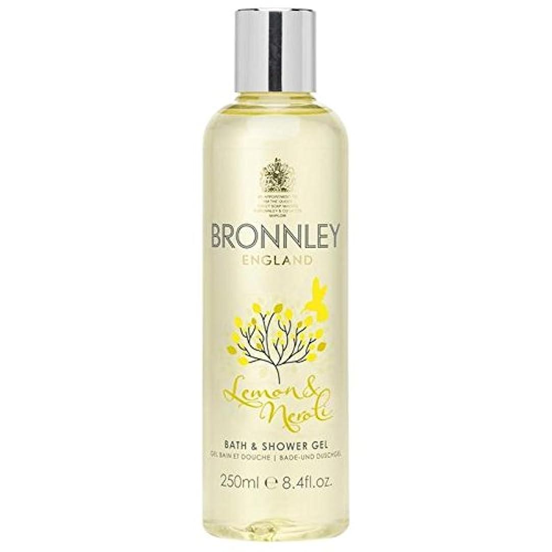 珍味群れ緊急Bronnley Lemon & Neroli Bath & Shower Gel 250ml - レモン&ネロリバス&シャワージェル250ミリリットル [並行輸入品]