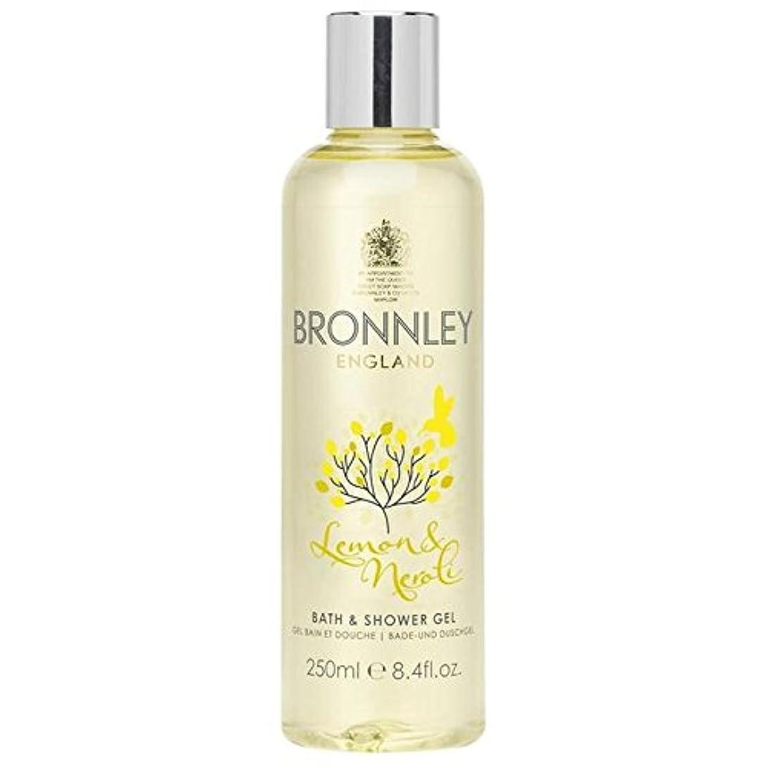 放射する輝く松レモン&ネロリバス&シャワージェル250ミリリットル x2 - Bronnley Lemon & Neroli Bath & Shower Gel 250ml (Pack of 2) [並行輸入品]