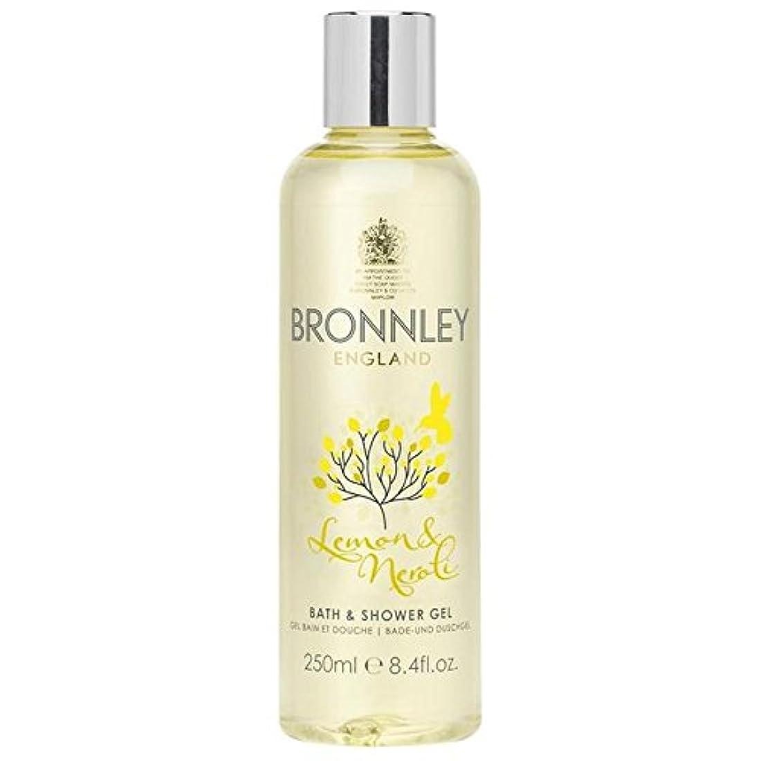 販売計画ファックス器官Bronnley Lemon & Neroli Bath & Shower Gel 250ml (Pack of 6) - レモン&ネロリバス&シャワージェル250ミリリットル x6 [並行輸入品]