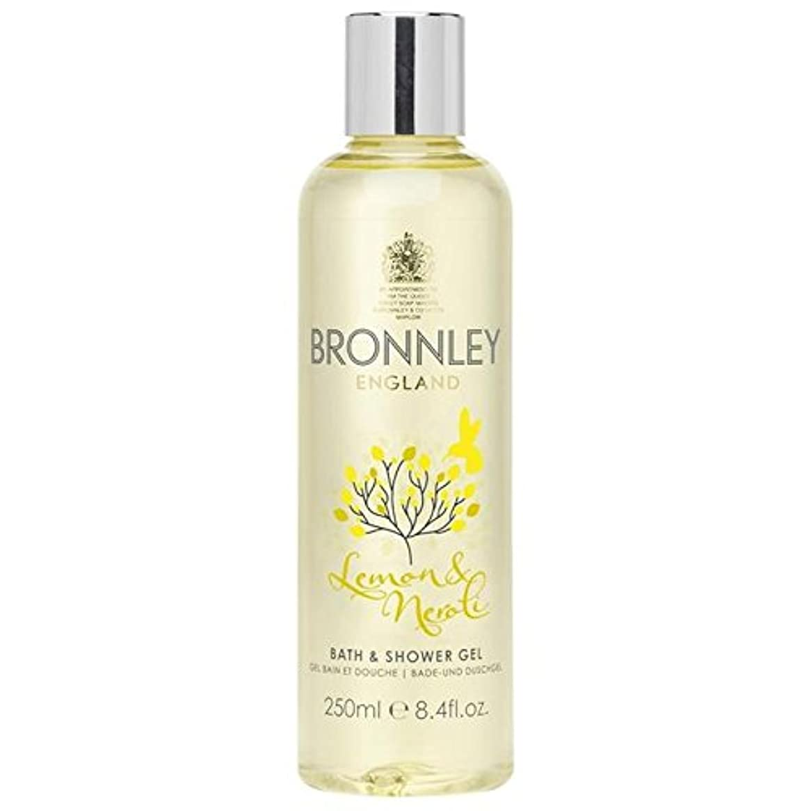 プランターナラーバーカートリッジレモン&ネロリバス&シャワージェル250ミリリットル x2 - Bronnley Lemon & Neroli Bath & Shower Gel 250ml (Pack of 2) [並行輸入品]