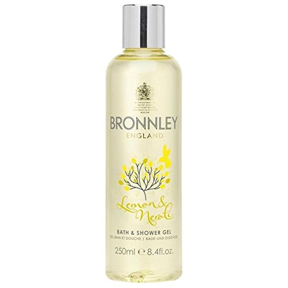 Bronnley Lemon & Neroli Bath & Shower Gel 250ml - レモン&ネロリバス&シャワージェル250ミリリットル [並行輸入品]