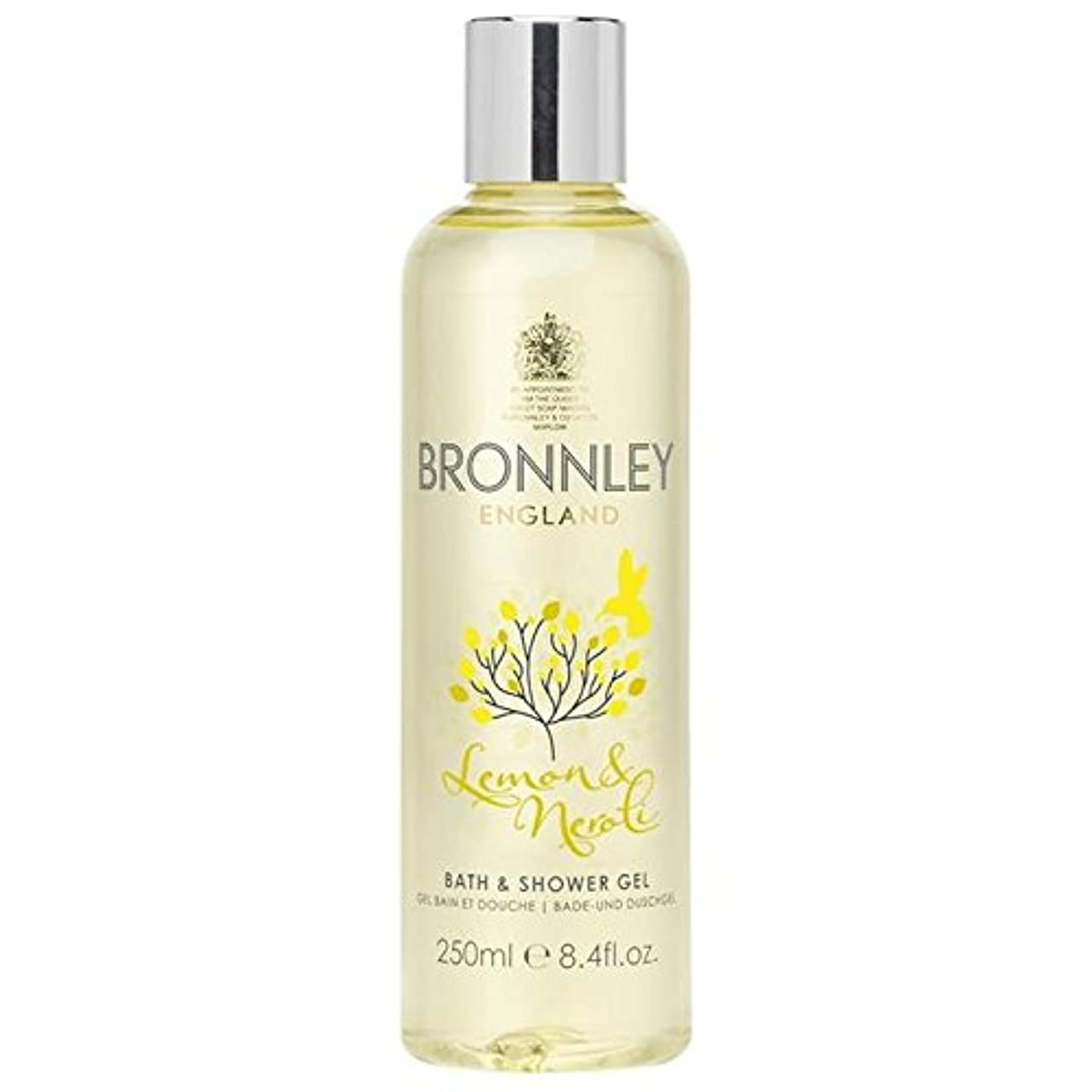 細分化するパス少数Bronnley Lemon & Neroli Bath & Shower Gel 250ml (Pack of 6) - レモン&ネロリバス&シャワージェル250ミリリットル x6 [並行輸入品]