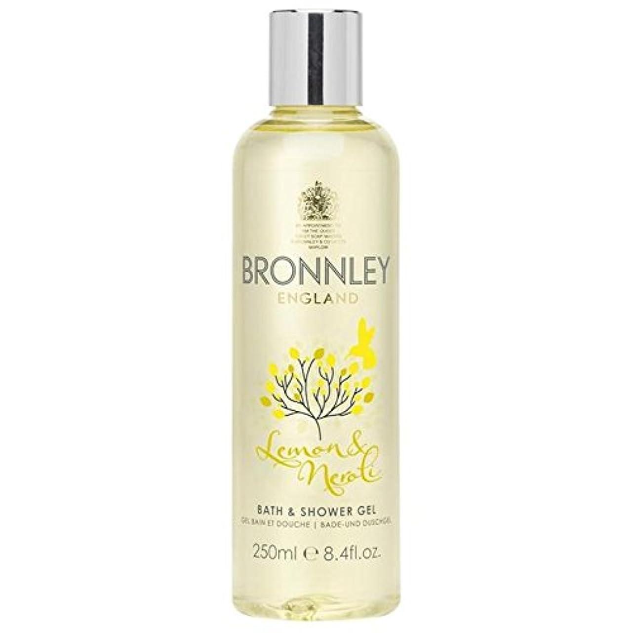 失望メディカル急勾配のBronnley Lemon & Neroli Bath & Shower Gel 250ml - レモン&ネロリバス&シャワージェル250ミリリットル [並行輸入品]