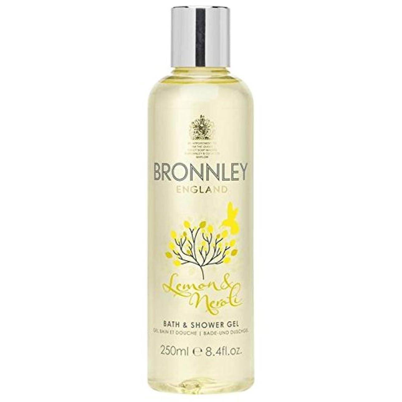 ノイズ求人卒業Bronnley Lemon & Neroli Bath & Shower Gel 250ml (Pack of 6) - レモン&ネロリバス&シャワージェル250ミリリットル x6 [並行輸入品]