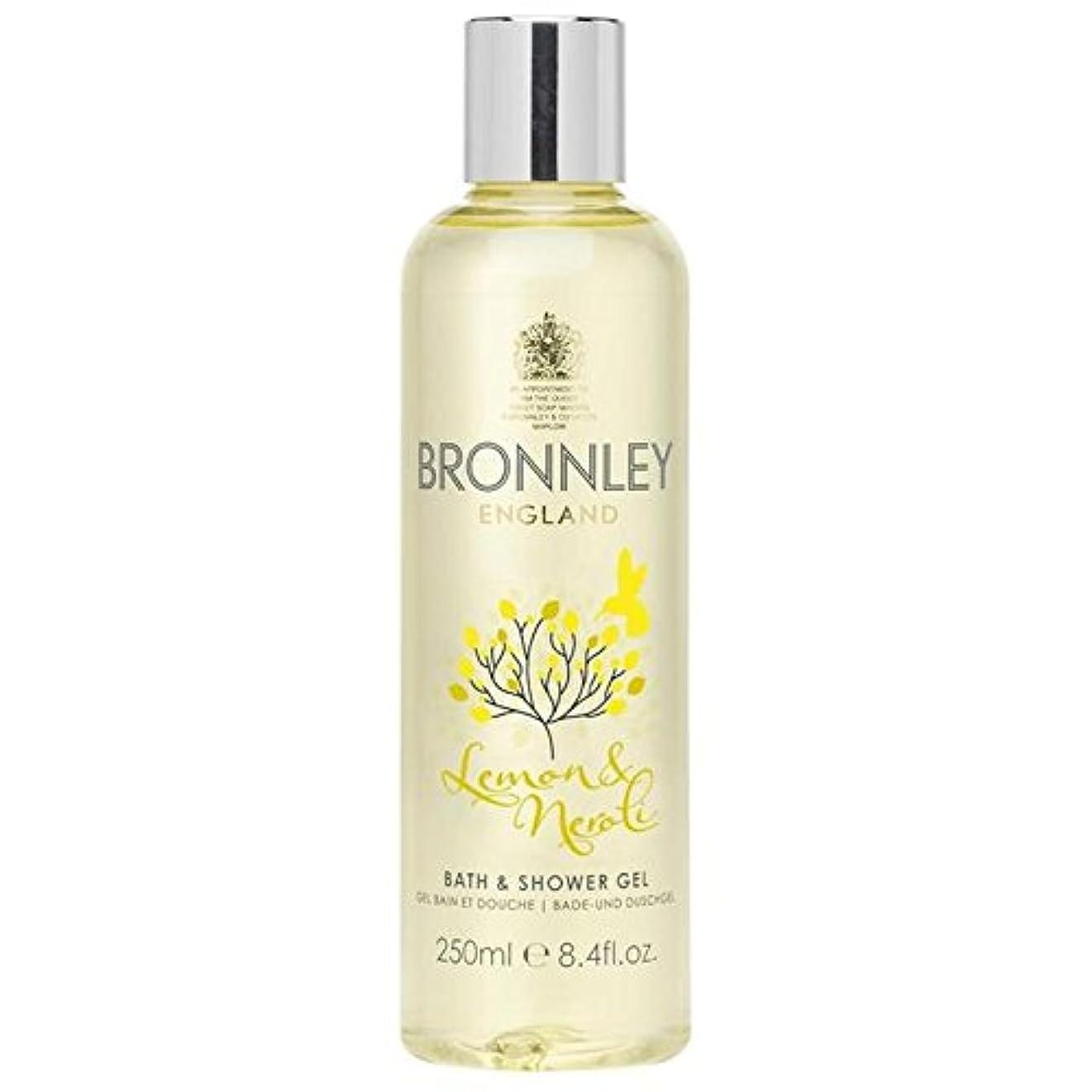 バランスのとれた膿瘍特別にBronnley Lemon & Neroli Bath & Shower Gel 250ml - レモン&ネロリバス&シャワージェル250ミリリットル [並行輸入品]