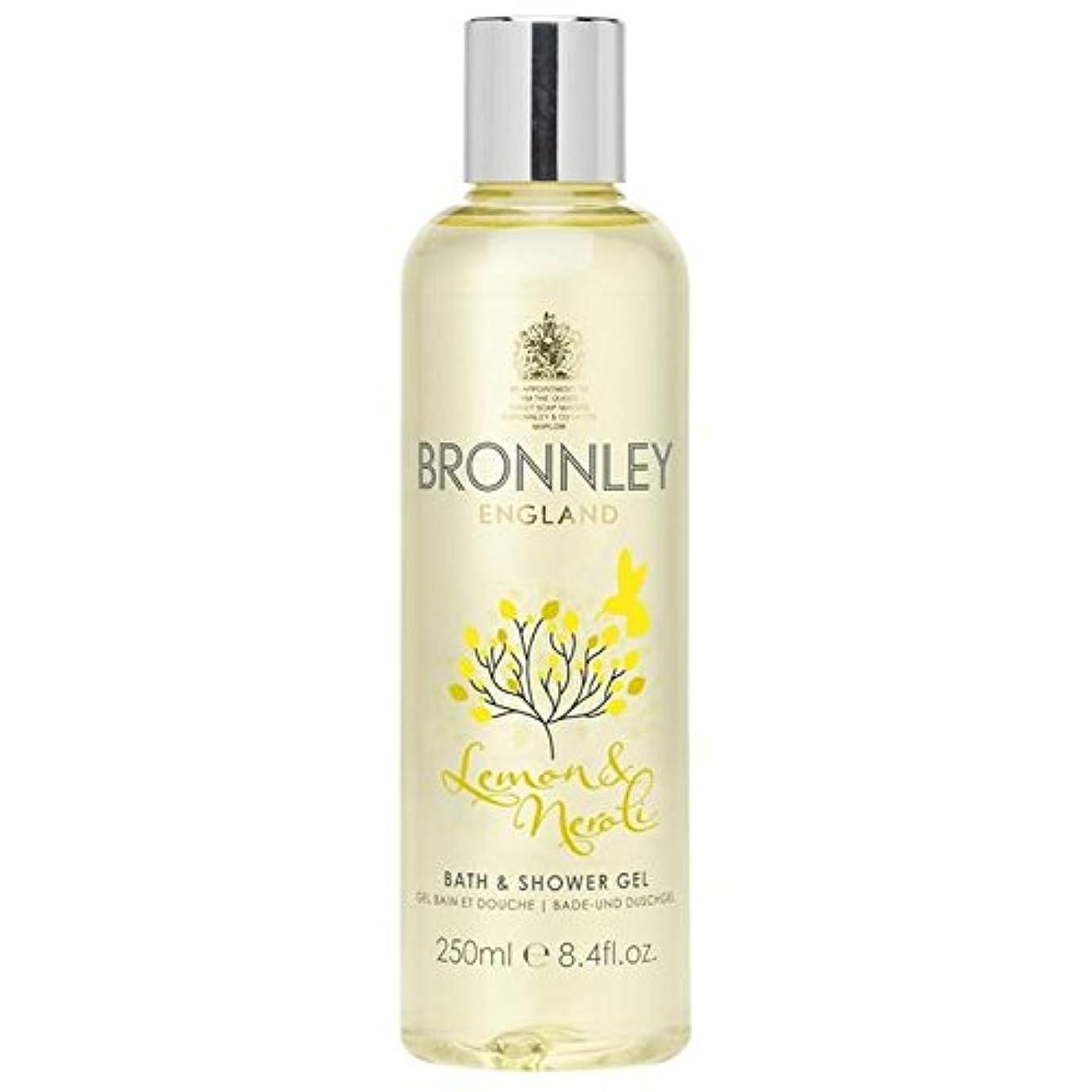 エスニックアフリカ自殺Bronnley Lemon & Neroli Bath & Shower Gel 250ml - レモン&ネロリバス&シャワージェル250ミリリットル [並行輸入品]