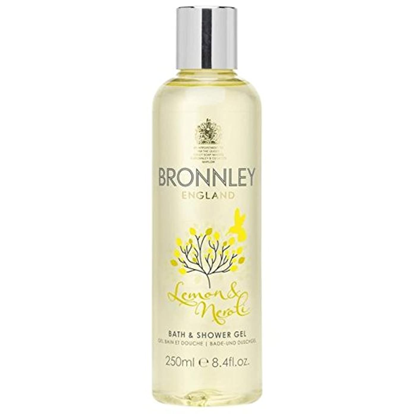 ヒロイン振り子履歴書Bronnley Lemon & Neroli Bath & Shower Gel 250ml (Pack of 6) - レモン&ネロリバス&シャワージェル250ミリリットル x6 [並行輸入品]