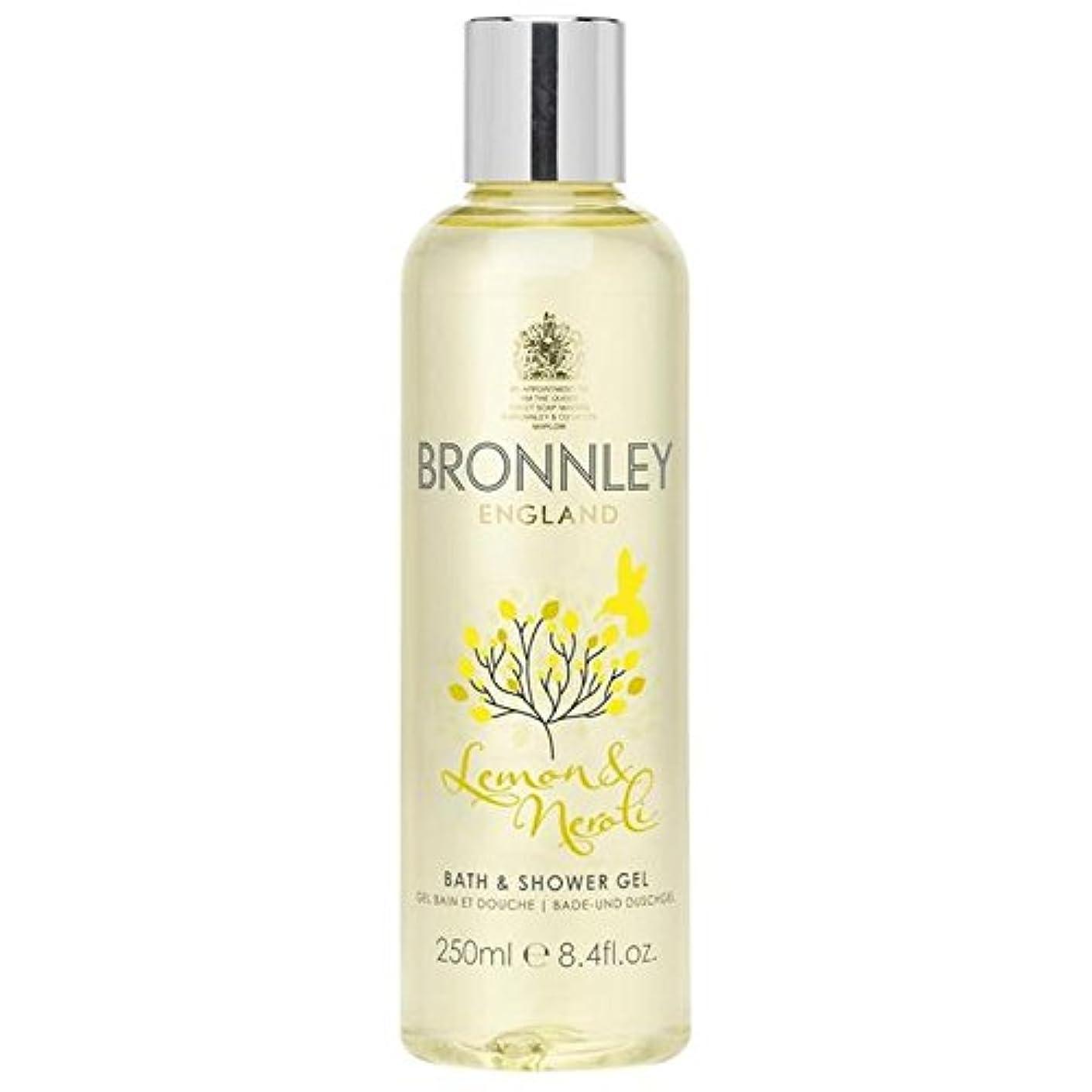 尊敬する論争的受けるBronnley Lemon & Neroli Bath & Shower Gel 250ml (Pack of 6) - レモン&ネロリバス&シャワージェル250ミリリットル x6 [並行輸入品]