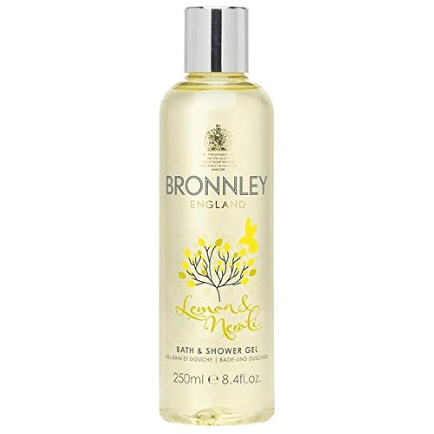空虚納屋今晩Bronnley Lemon & Neroli Bath & Shower Gel 250ml (Pack of 6) - レモン&ネロリバス&シャワージェル250ミリリットル x6 [並行輸入品]
