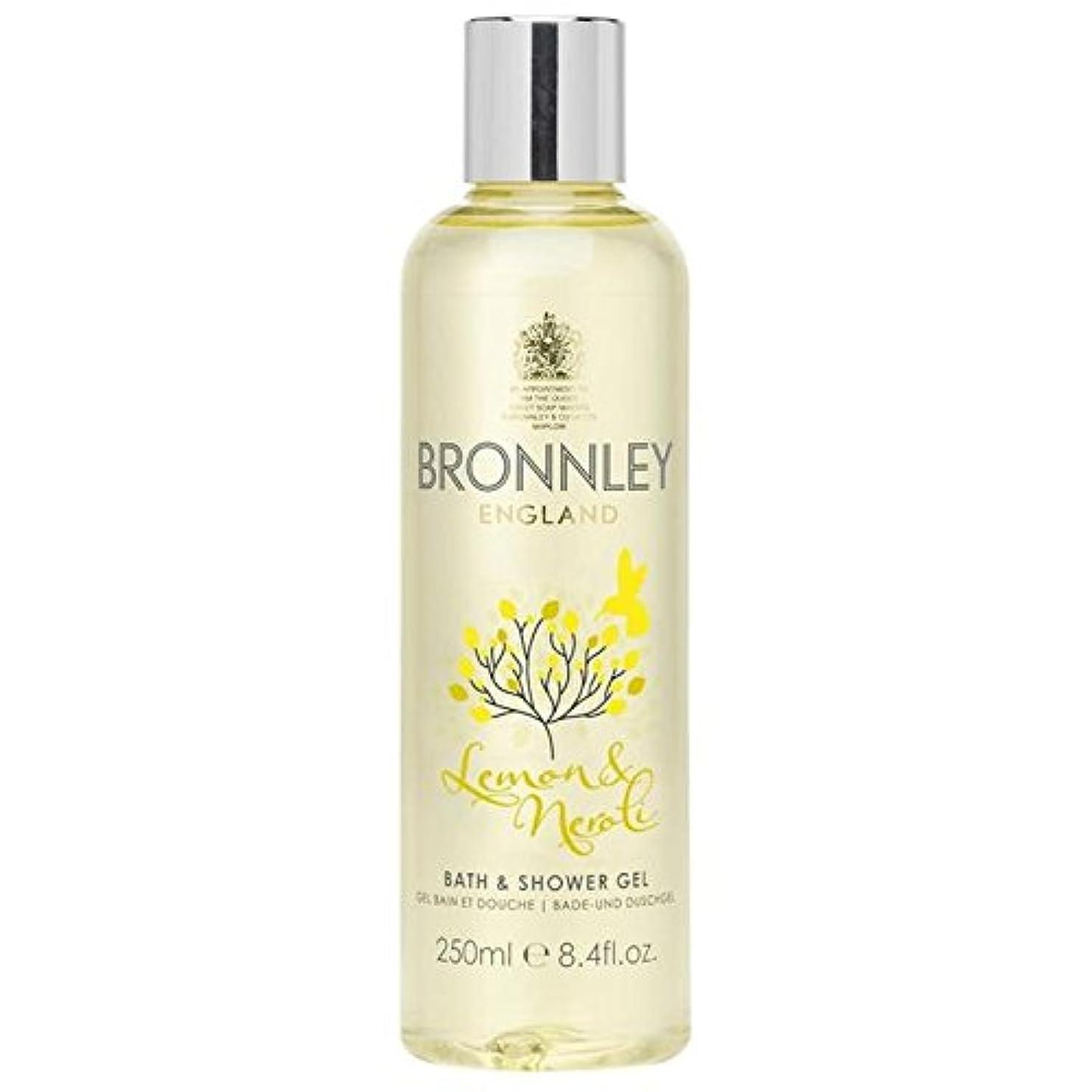 予測調整可能累積Bronnley Lemon & Neroli Bath & Shower Gel 250ml (Pack of 6) - レモン&ネロリバス&シャワージェル250ミリリットル x6 [並行輸入品]