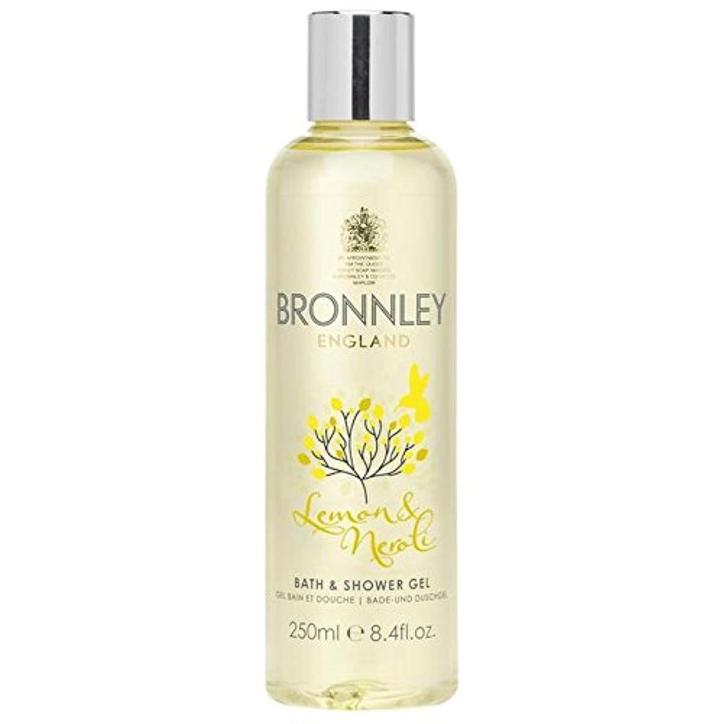 北へ靄溶けたレモン&ネロリバス&シャワージェル250ミリリットル x2 - Bronnley Lemon & Neroli Bath & Shower Gel 250ml (Pack of 2) [並行輸入品]