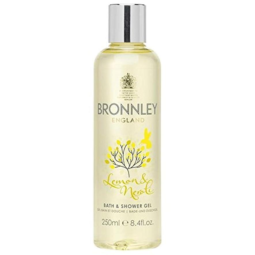吸う破滅計算可能レモン&ネロリバス&シャワージェル250ミリリットル x2 - Bronnley Lemon & Neroli Bath & Shower Gel 250ml (Pack of 2) [並行輸入品]