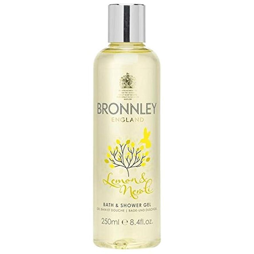 ジャーナル検出遺棄されたレモン&ネロリバス&シャワージェル250ミリリットル x2 - Bronnley Lemon & Neroli Bath & Shower Gel 250ml (Pack of 2) [並行輸入品]