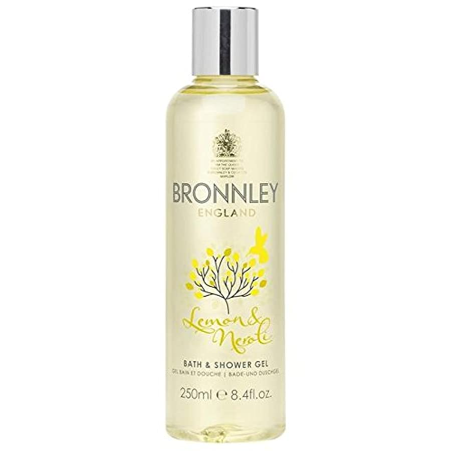 賢い流星タンパク質レモン&ネロリバス&シャワージェル250ミリリットル x2 - Bronnley Lemon & Neroli Bath & Shower Gel 250ml (Pack of 2) [並行輸入品]