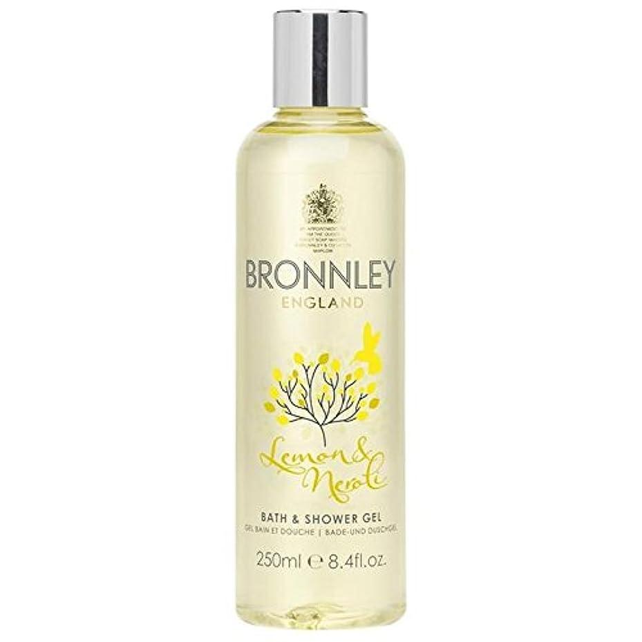 欠伸デッキビヨンレモン&ネロリバス&シャワージェル250ミリリットル x2 - Bronnley Lemon & Neroli Bath & Shower Gel 250ml (Pack of 2) [並行輸入品]