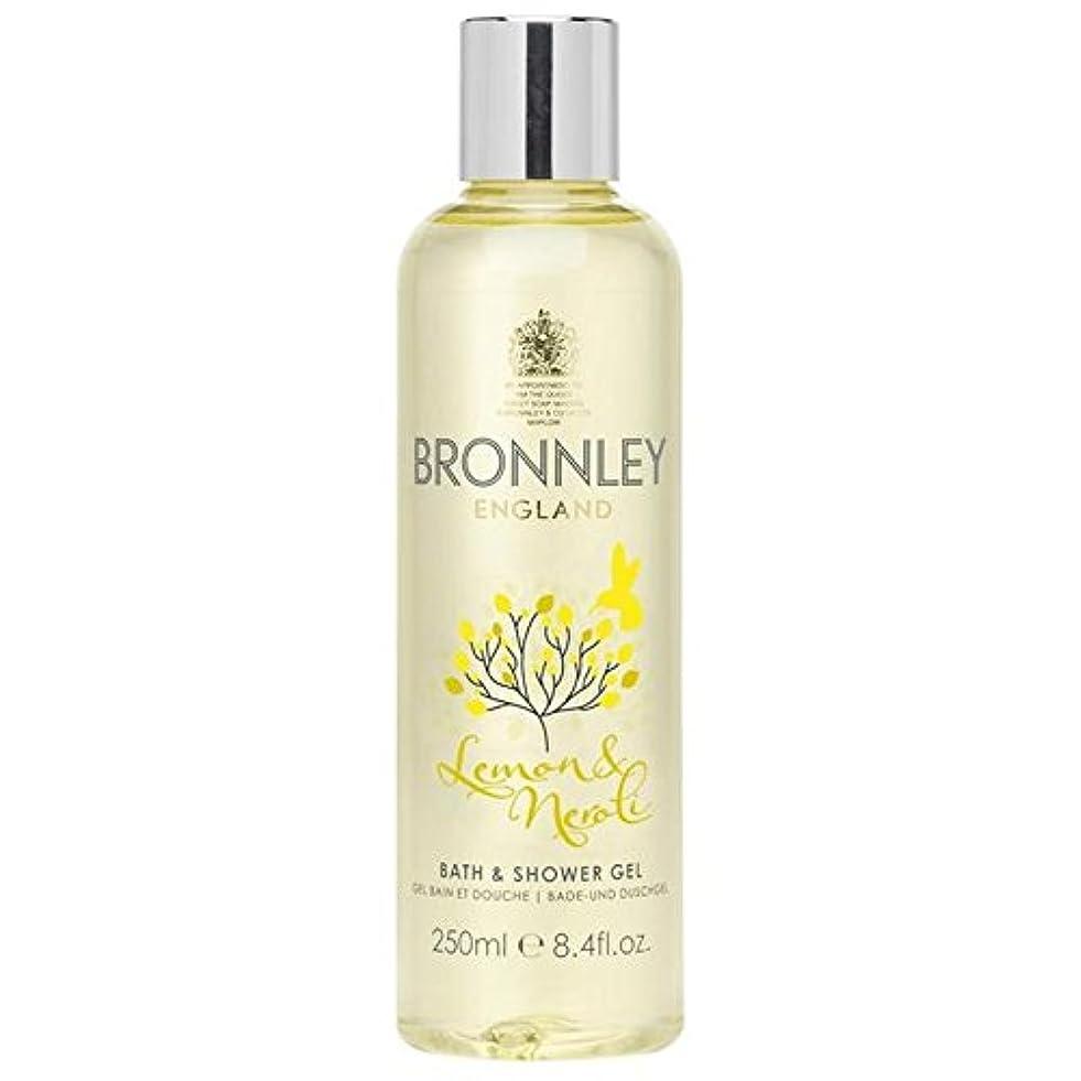 請求書夫婦パネルレモン&ネロリバス&シャワージェル250ミリリットル x2 - Bronnley Lemon & Neroli Bath & Shower Gel 250ml (Pack of 2) [並行輸入品]