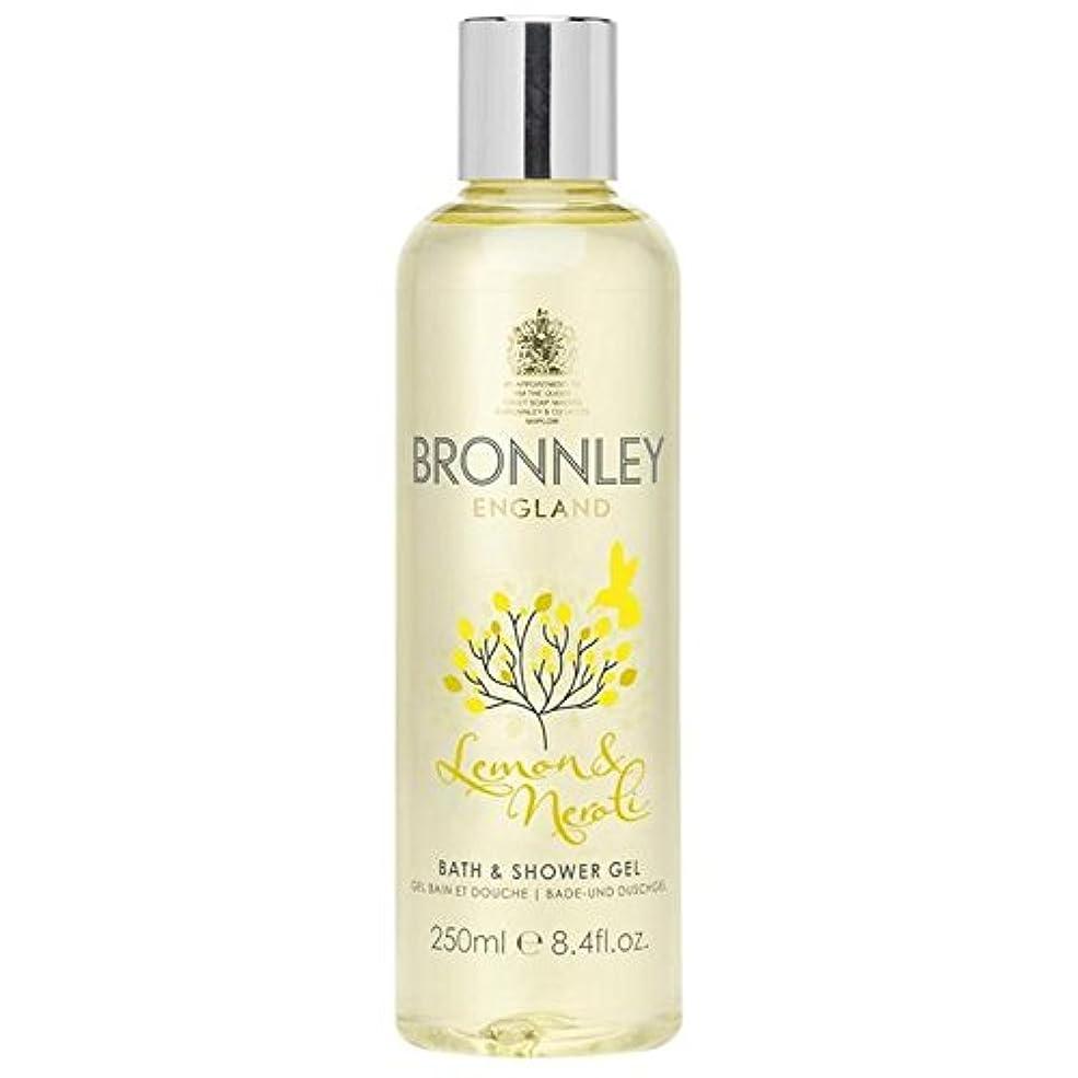 隠増幅する驚かすBronnley Lemon & Neroli Bath & Shower Gel 250ml - レモン&ネロリバス&シャワージェル250ミリリットル [並行輸入品]