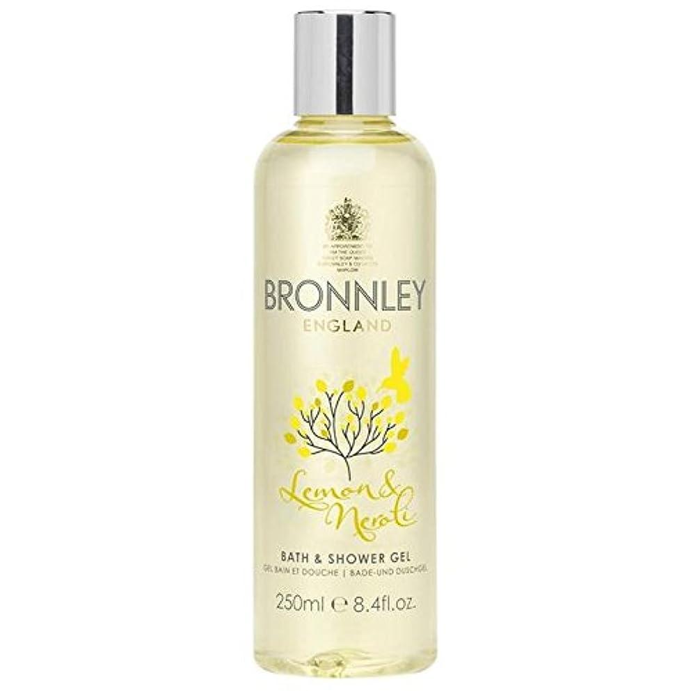 ペンス休暇戻すBronnley Lemon & Neroli Bath & Shower Gel 250ml (Pack of 6) - レモン&ネロリバス&シャワージェル250ミリリットル x6 [並行輸入品]
