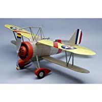 Curtiss F9C2 Sparrowhawk Rubber Pwd Wooden Model Airplane by Dumas by Dumas