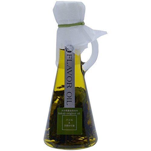 香々地 花の岬 香々地(かかぢ) フレーバーオイル バジル+ひまわり油 115g