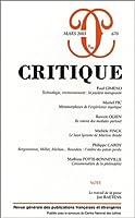REVUE CRITIQUE T.670