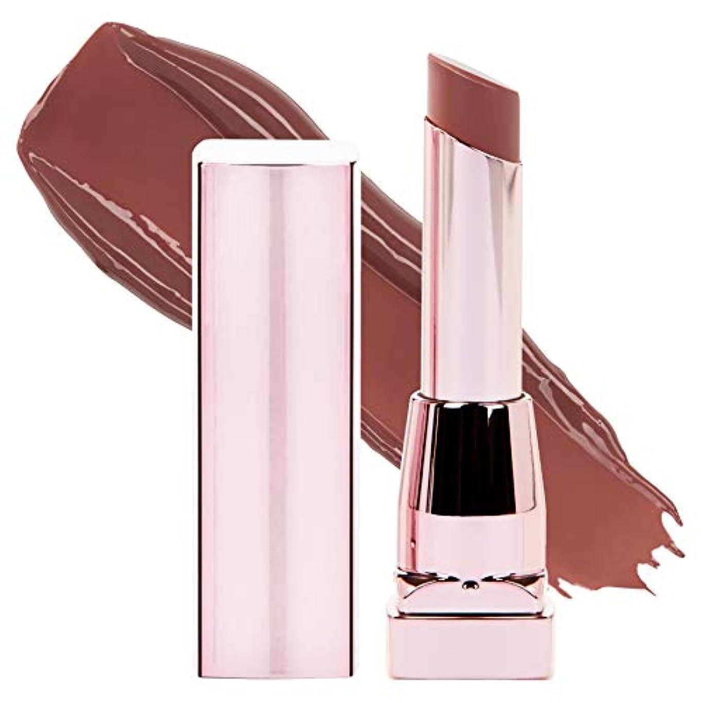 MAYBELLINE Color Sensational Shine Compulsion Lipstick - Spicy Mauve 065 (並行輸入品)