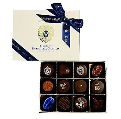 Debauve&Gallais ドゥボーヴ・エ・ガレ ボンボン ショコラ 12個入 チョコレート 洋菓子