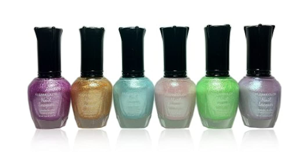 コアズボン算術KLEANCOLOR Nail Lacquer 4 - Love is in The Air (並行輸入品)