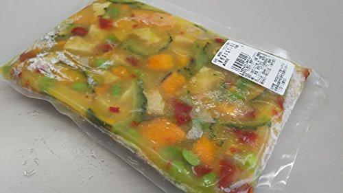 小鉢 夏野菜の塩ダレ和え 1kg 冷凍 解凍後そのままお召し上がり頂けます。