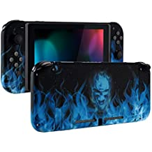 eXtremeRate Back Plate for Nintendo Switch Console, NS Joycon Handheld Controller Housingwith Full Set Buttons, DIY Shell for Nintendo Switch