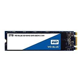 WD 内蔵SSD M.2-2280 / 2TB / WD Blue 3D / SATA3.0 / 5年保証 / WDS200T2B0B