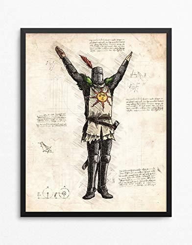 Dark Souls印刷、SolaireのAstora印刷、...